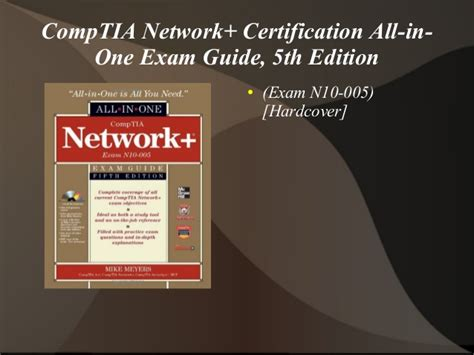 comptia security all in one guide fifth edition sy0 501 books comptia network certification all in one guide 5th