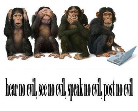hear no evil see no evil speak no evil tattoo hear no evil see no evil speak no evil post no evil