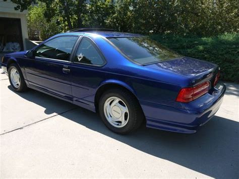 car engine manuals 1994 ford thunderbird interior lighting purchase used 1994 ford thunderbird super coupe supercharged in billings montana united states