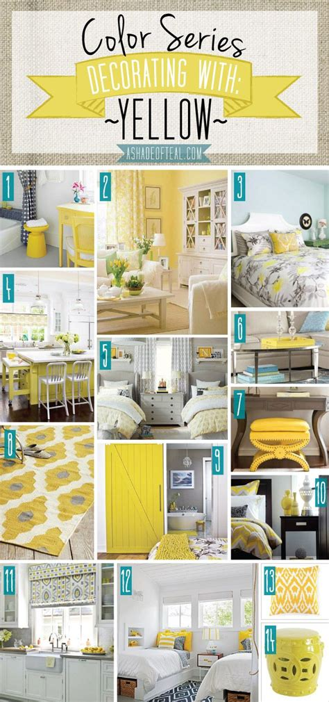 home decor by color 25 best ideas about yellow home decor on pinterest