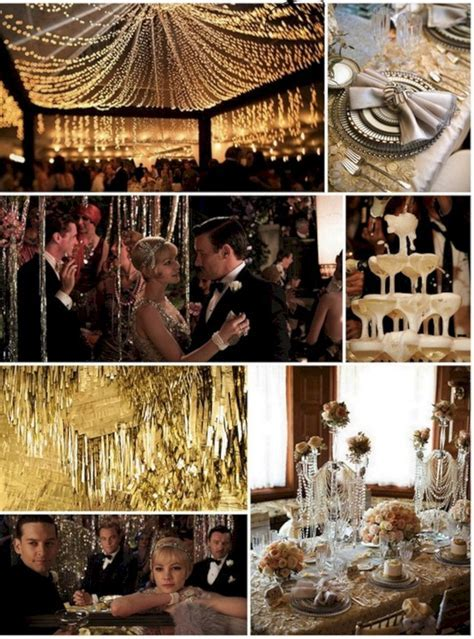 10  Awesome Decorations Great Gatsby party Ideas   Prom