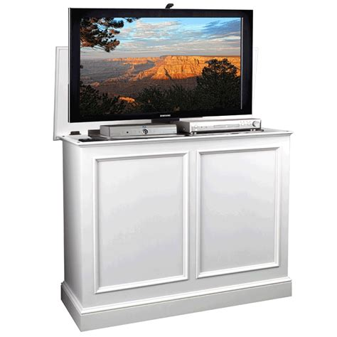 tv lift cabinet carousel lift for 32 46 inch screens