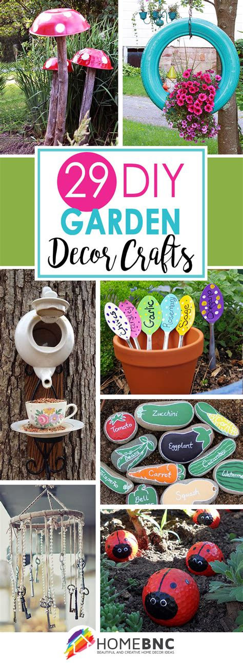 diy decorations crafts 29 best diy garden crafts ideas and designs for 2017