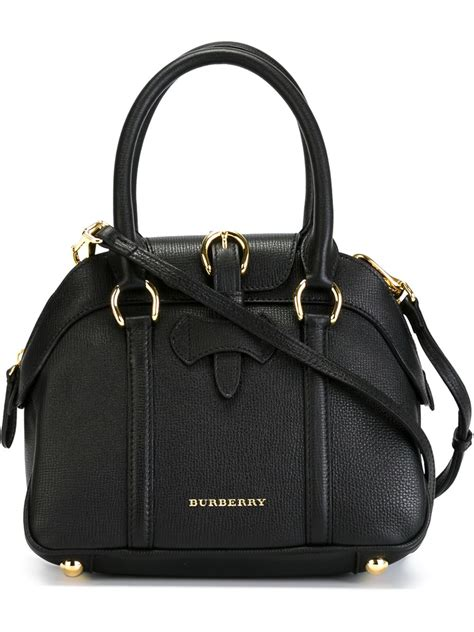 Theory Buckle Detail Tote by Burberry Small Buckle Detail Tote In Black Lyst