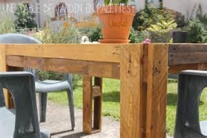 hard 233 co 1 fabriquer une table de jardin en palettes