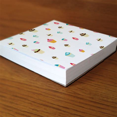 Print Memo Pad memo note block printing get 4 designs at same price a