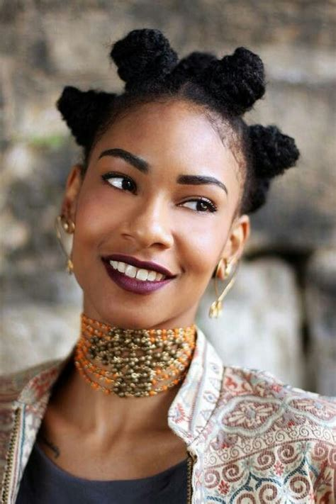 african american hairstlye from the 90s afroshista bantu knot une coiffure utltra tendance