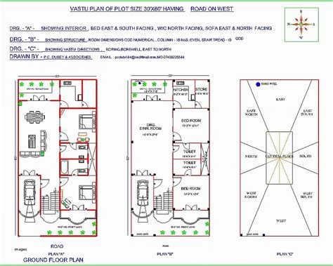 Home Plan Design According To Vastu Shastra | house plan awesome south facing house plans according to