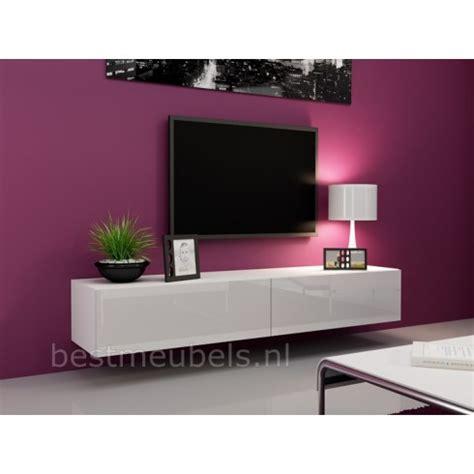 Exceptionnel Ikea Meuble Laque Blanc #1: zwevend-wandmeubel-verdi-1-tv-kast-tv-meubel.jpg