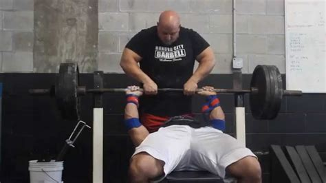paused bench press bench press pause 455x4 475x2 1 youtube