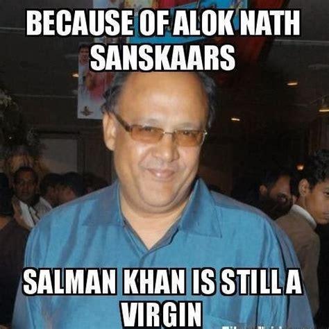 Actor Memes - memes and jokes on actor alok nath aali lahar kela kahar