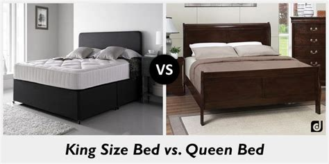 queen size bed vs king size bed difference between king size and queen bed