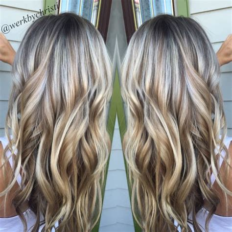 blonde high and lowlights hairstyles highlights and lowlights platinum blonde honey blonde