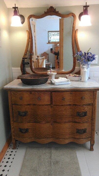 Antique Furniture Turned Into Bathroom Vanity 17 Best Ideas About Vessel Sink Vanity On Vessel Sink Bathroom Vessel Sink And