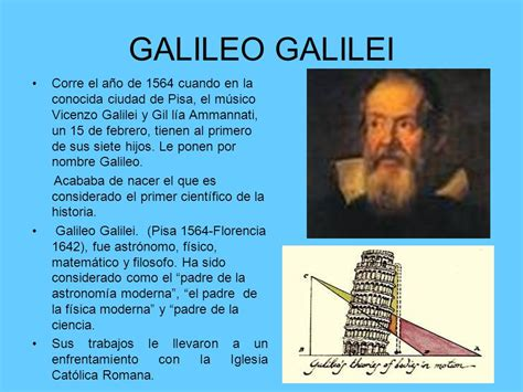 imagenes de la vida de galileo galilei biografia de galileo galilei descubrimientos e historia de