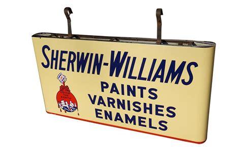 sherwin williams paint store scottsdale large 1940s sherwin williams paints sided porcelain