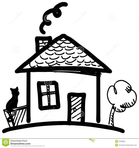cartoon house little cartoon house royalty free stock photography image 31682867