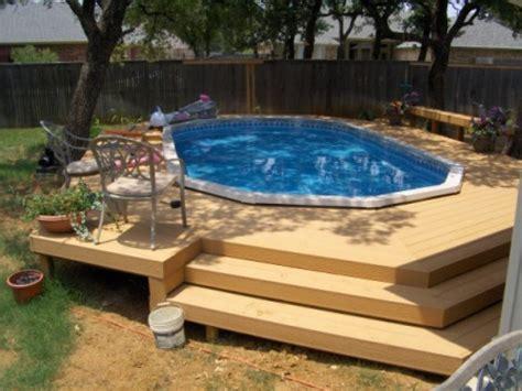 Semi Above Ground Pool Designs Joy Studio Design Gallery | oval above ground pools