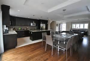 pictures of open floor plan kitchens open floor plan into kitchen kitchens pinterest