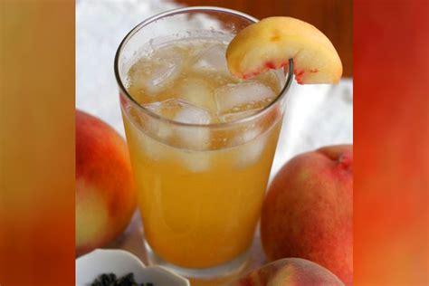 oolong flavored white peach iced tea recipe salon com