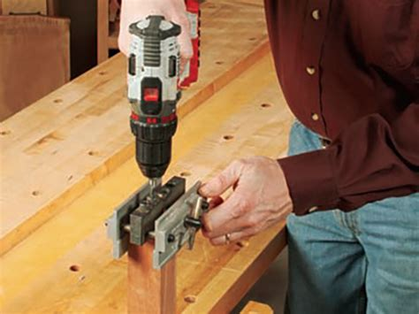 doweling jig doubles   drill press woodworking blog