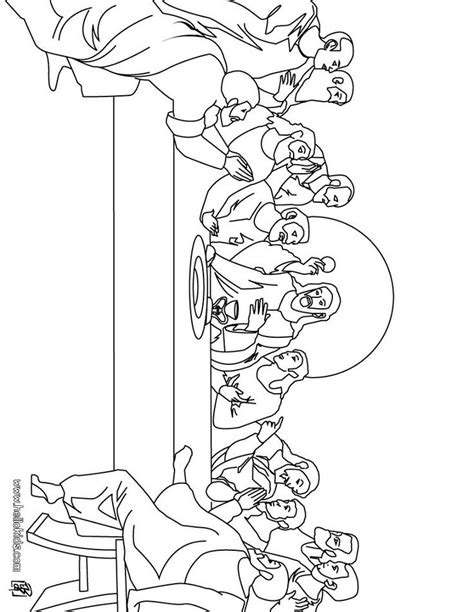 lds coloring pages last supper 47 best upper room last supper images on pinterest