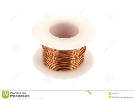 copper wire stock photography image 2392402