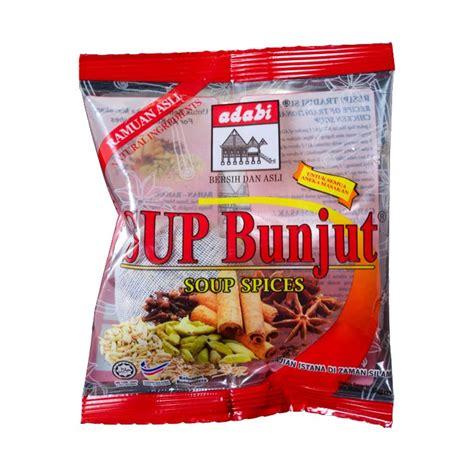 Sup Bunjut soup spices adabi consumer industries sdn bhd