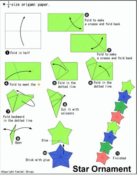 printable christmas origami instructions 16 best photos of origami star ornament origami