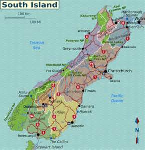 south island travel guide at wikivoyage