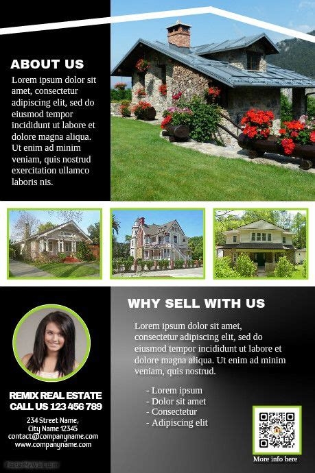 116 Best Images About Real Estate Flyer Diy On Pinterest Property Listing Real Estate Real Estate Marketing Flyers Templates