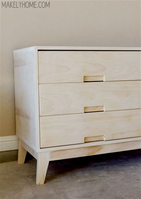 Build Your Own Dresser by Plywood Dresser Bestdressers 2017