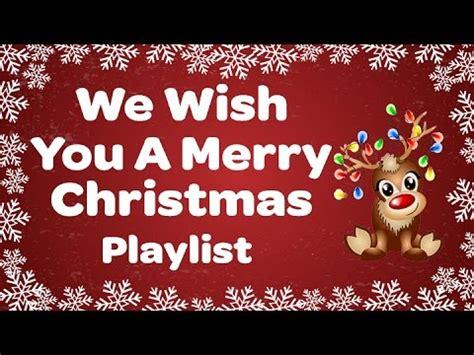 merry christmas playlist sing  christmas songs  carols  lyrics