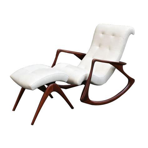 vladimir kagan rocking chair vladimir kagan rocking chair and ottoman circa 1950s