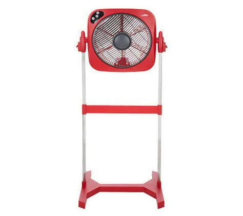 Set 2in1 Peplum Joan air innovations 14 quot swirl cool 2 in 1 stand tabletop fan with remote qvc