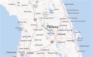 map tavares florida tavares weather station record historical weather for