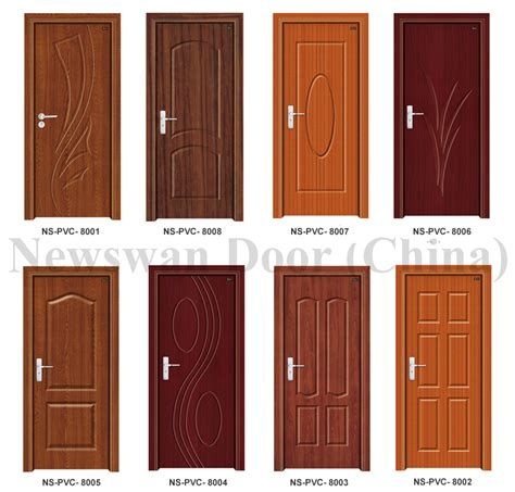 Nigeria Mdf Wooden Door Price Bathroom Pvc Door With