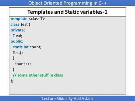 Templates In C Template Class T C