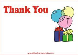 thank you cards birthday thank you border clipart best