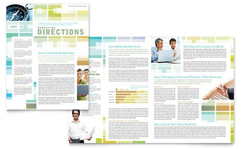 professional services newsletters templates designs