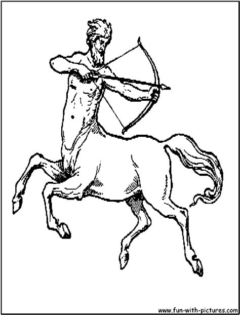 centaur girl coloring page free girl centaur coloring pages