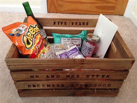 new years anniversary ideas 5 year anniversary gift for my husband