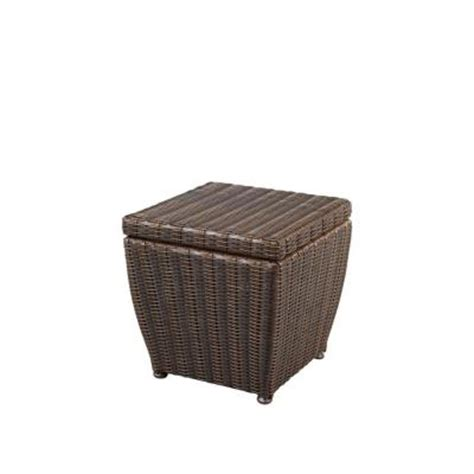 home depot patio storage hton bay pembrey patio storage cube hd14220 the home