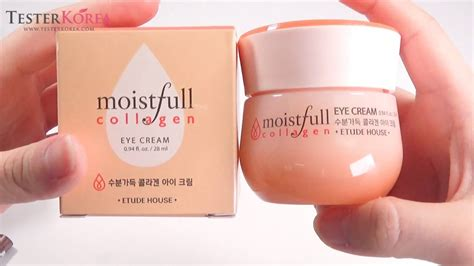 Etude Collagen Moistfull testerkorea etude house moistfull collagen eye