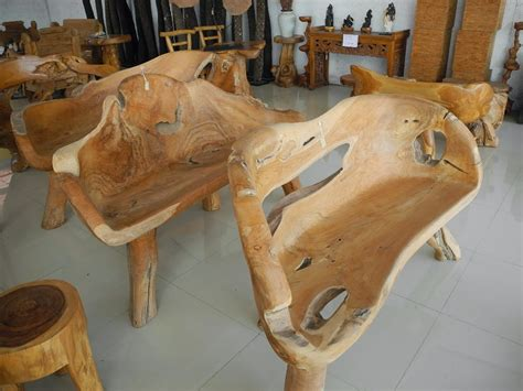 Handmade Furniture For Sale - unique rustic patio chairs and handmade rustic teak root