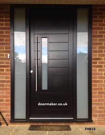 front door co contemporary front doors oak iroko and other woods