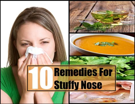 home remedy for stuffy nose sinuses how 2 get rid of