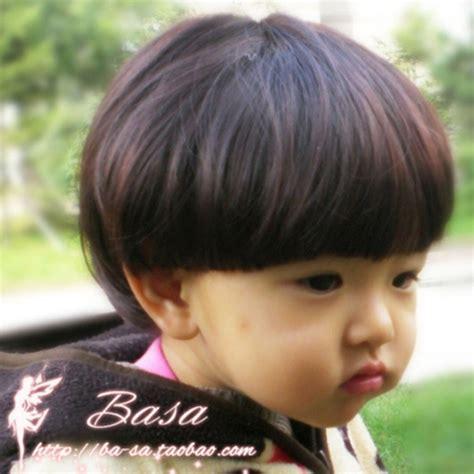 new hair cut of baby girls photograph children mushroom wig of baby girl boy short