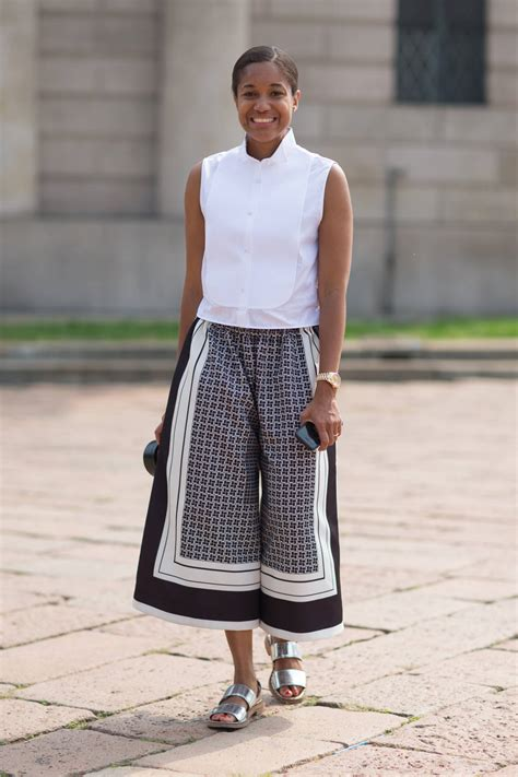 ways  wear culottes lauren messiah
