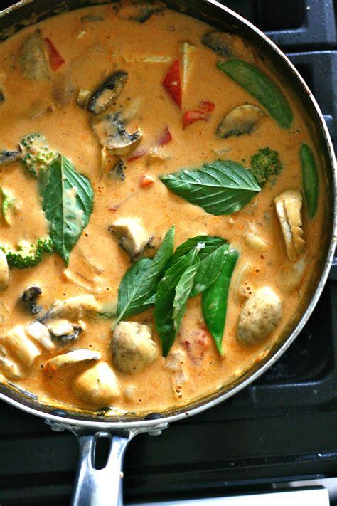 panang curry recipris